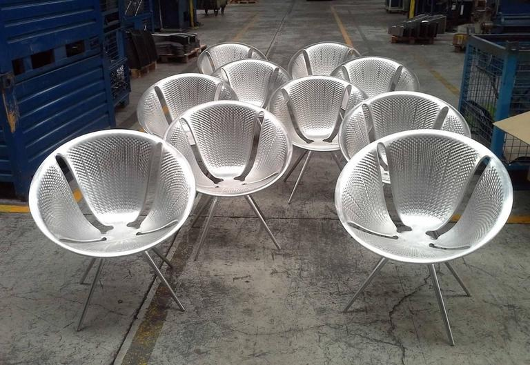 Contemporary Moroso Diatom Stackable Chair for Indoor and Outdoor Use by Ross Lovegrove For Sale