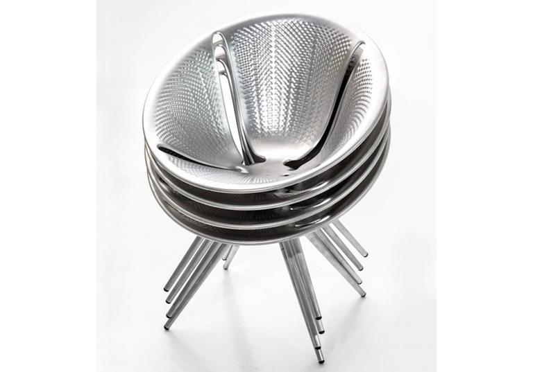 Moroso Diatom Stackable Chair for Indoor and Outdoor Use by Ross Lovegrove 3