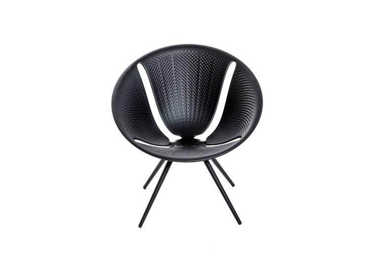 Italian Moroso Diatom Stackable Chair for Indoor and Outdoor Use by Ross Lovegrove For Sale