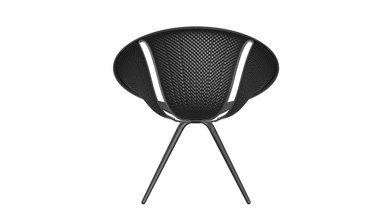 Anodized Moroso Diatom Stackable Chair for Indoor and Outdoor Use by Ross Lovegrove For Sale