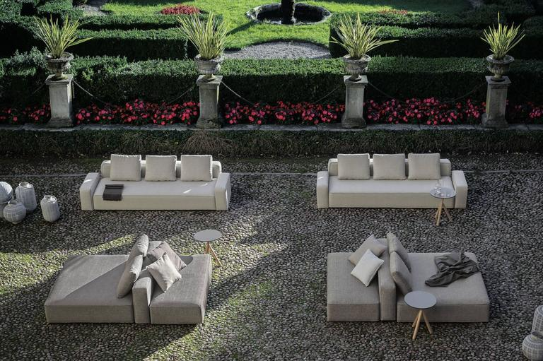 Modern Roda Dandy Sofa for Outdoor or Indoor Use by Rodolfo Dordoni For Sale