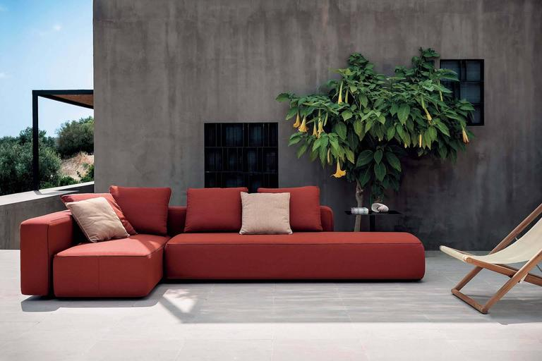 Roda Dandy Sofa for Outdoor or Indoor Use by Rodolfo Dordoni For Sale 1