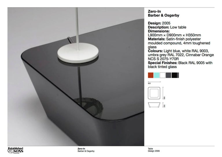 Established and Sons Zero-In Coffee Table by Barber & Osgerby For Sale 2