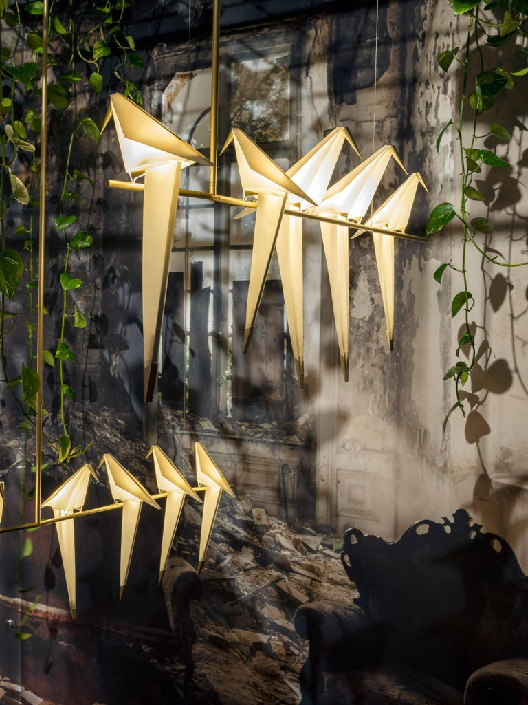 Moooi Perch Light Branch Chandelier in LED In New Condition For Sale In Rhinebeck, NY