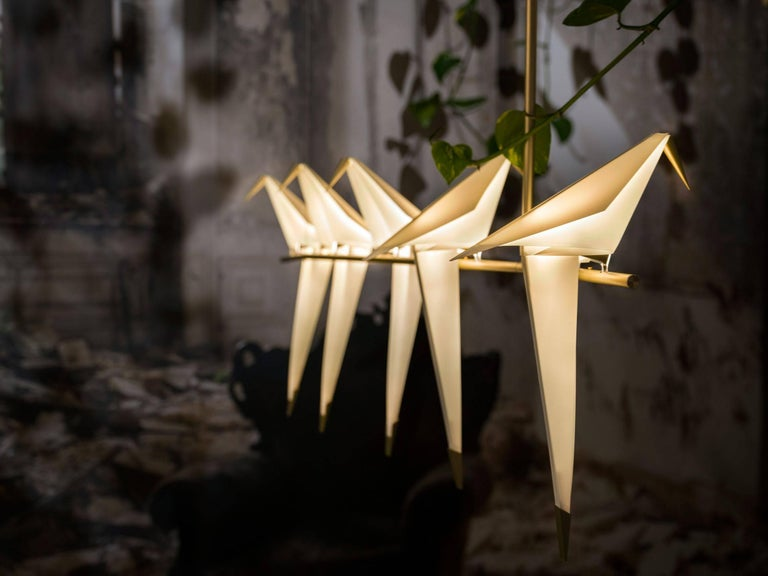 Contemporary Moooi Perch Light Branch Chandelier in LED For Sale