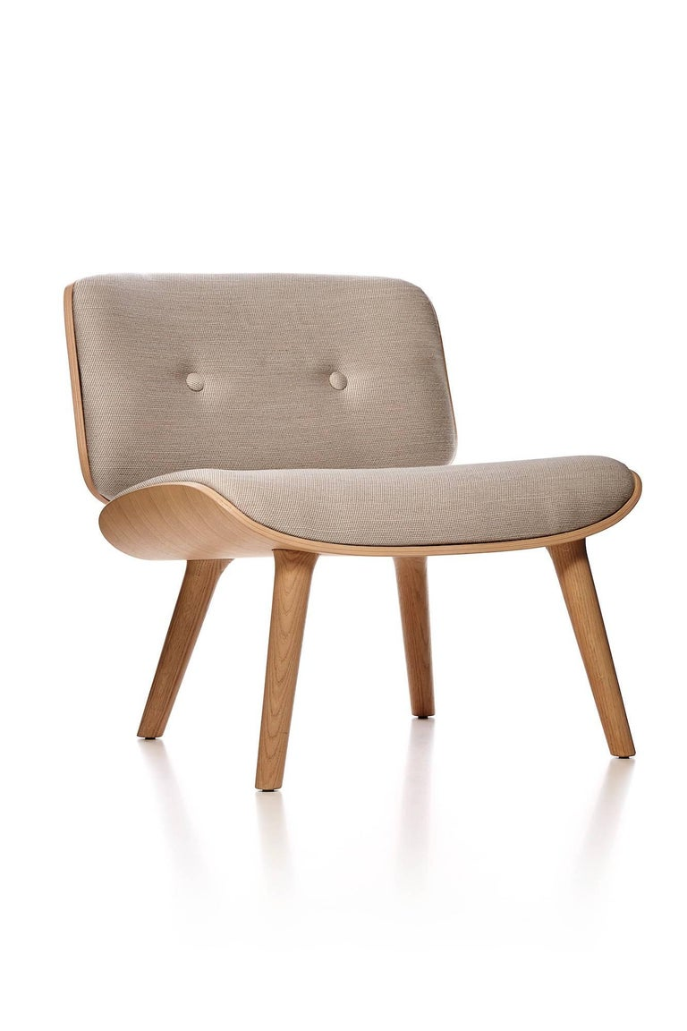 Moooi Nut Lounge Chair And Ottoman By Marcel Wanders In