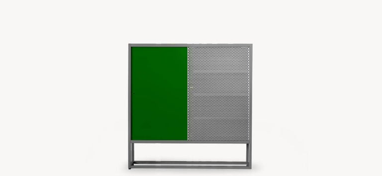 Modern Moroso Library Bookcase by Jörg Schellmann in Blue, Green, Orange or Yellow For Sale