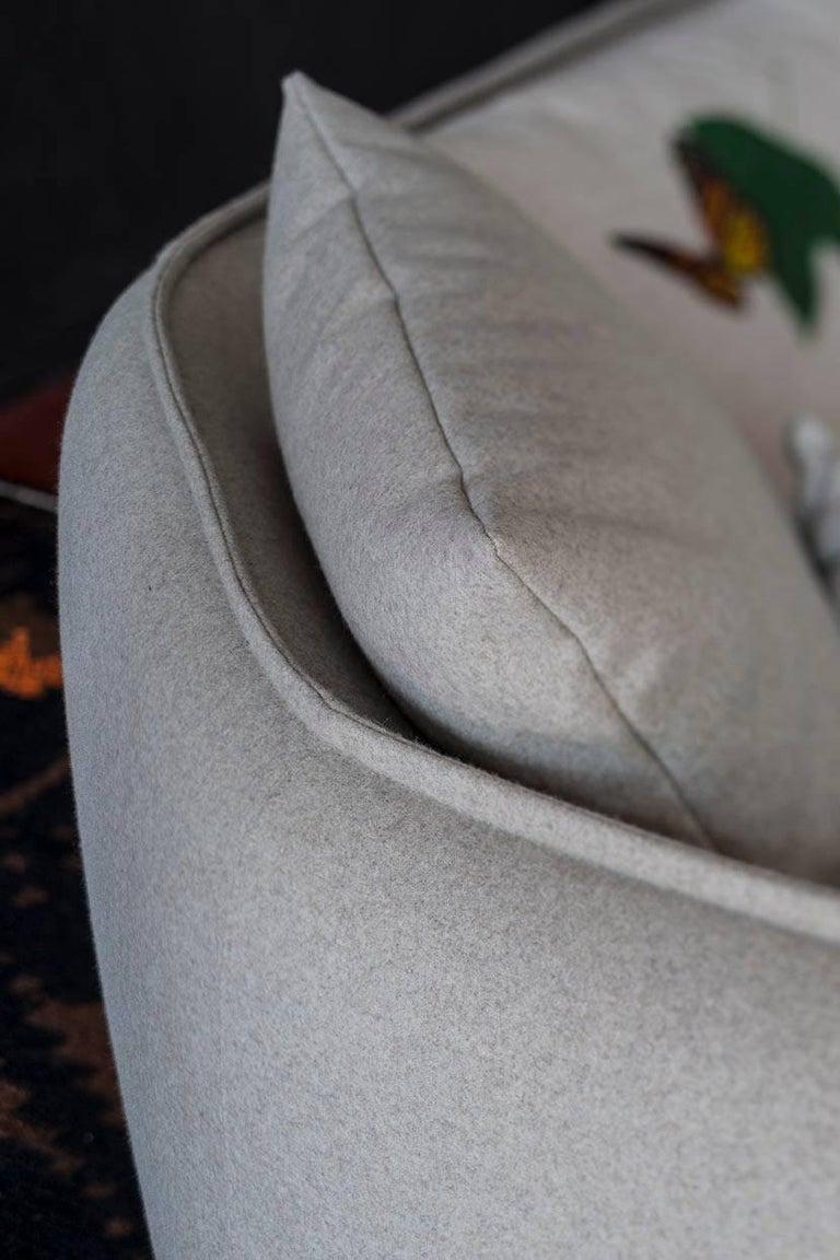 Contemporary Chamfer 1 Three-Seat Sofa by Patricia Urquiola for Moroso For Sale