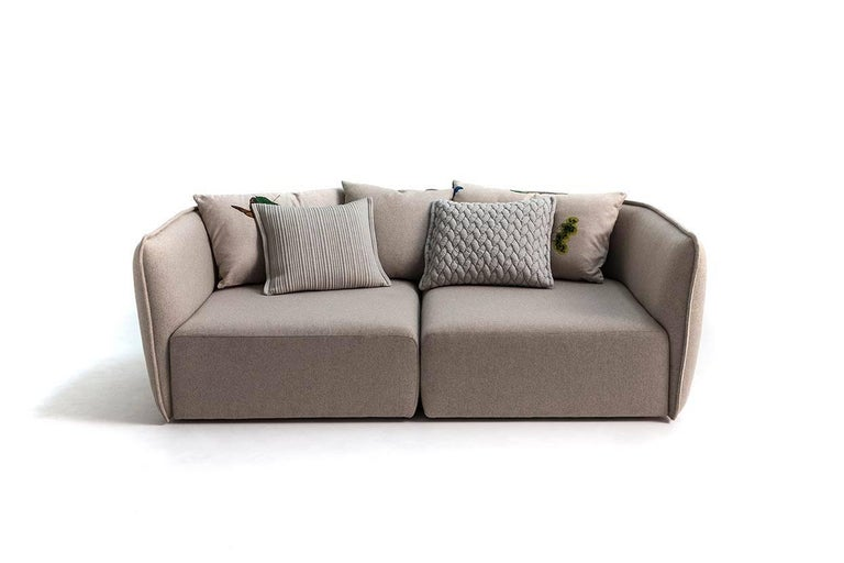 Chamfer 1 Three-Seat Sofa by Patricia Urquiola for Moroso For Sale 1