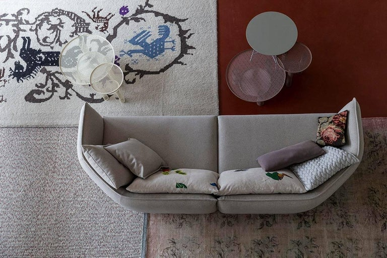 Chamfer 1 Three-Seat Sofa by Patricia Urquiola for Moroso For Sale 3