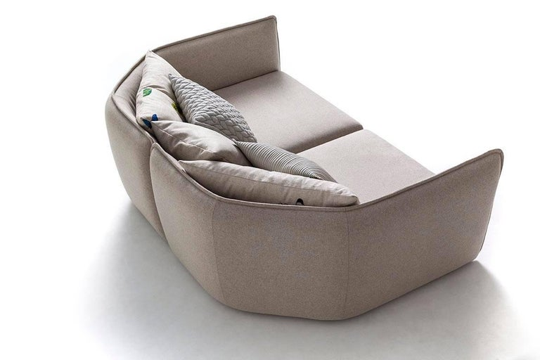 Chamfer 1 Three-Seat Sofa by Patricia Urquiola for Moroso For Sale 5