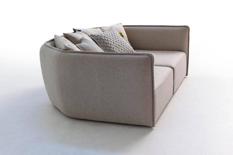 Chamfer 1 Three-Seat Sofa by Patricia Urquiola for Moroso For Sale 6
