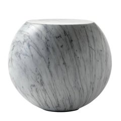 Bong Coffee or Side Table by Giulio Cappellini in Marble or Lava Lacquer Finish