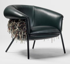 Grasso Armchair Special Edition Version Designed by Stephen Burks+Bolón Textiles