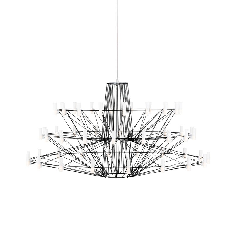 moooi copp u00e9lia chandelier by arhiro miyake for sale at 1stdibs