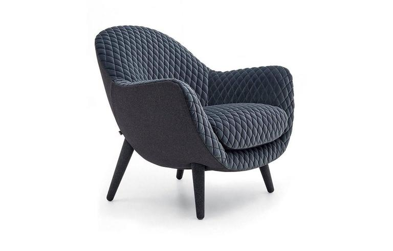 Poliform Queen Armchair For Sale at 1stdibs