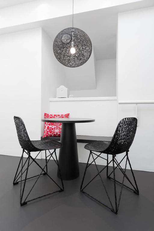 Contemporary Moooi Carbon Fiber Dining Chair For Sale