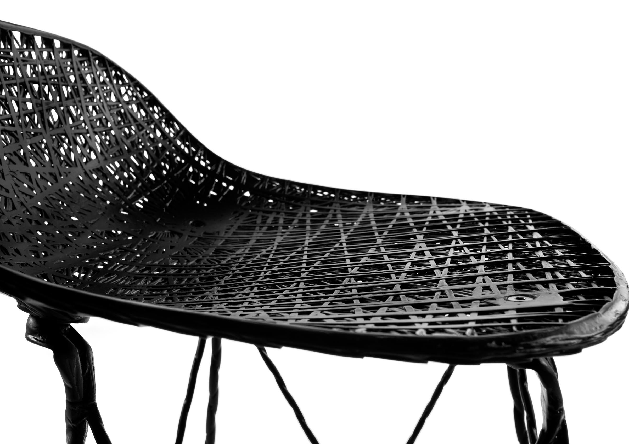 Moooi Carbon Fiber Dining Chair For Sale At 1stdibs