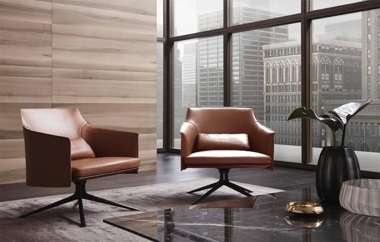 Poliform Stanford Low Back Armchair by Jean-Marie Massaud 7