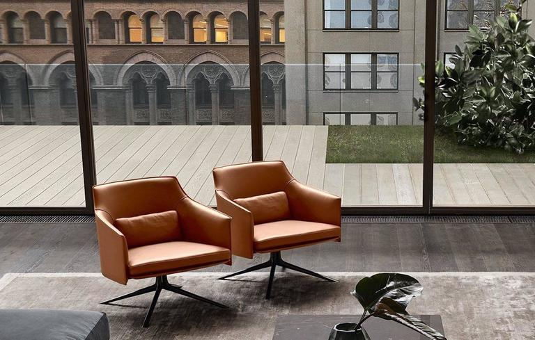 Poliform Stanford Low Back Armchair by Jean-Marie Massaud 8