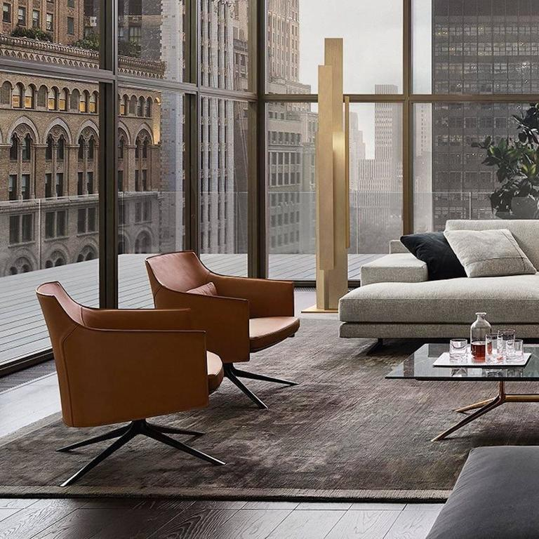 Poliform Stanford Low Back Armchair by Jean-Marie Massaud 9