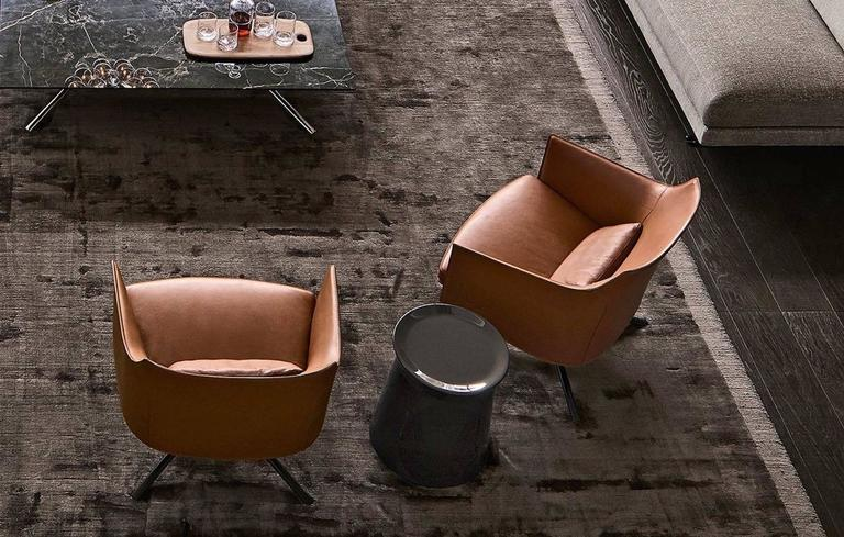 Poliform Stanford Low Back Armchair by Jean-Marie Massaud 10
