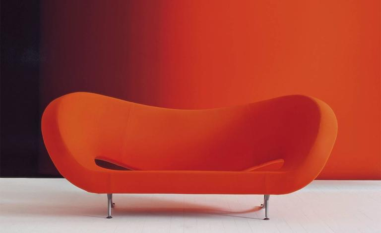 Fabulous Victoria and Albert Sofa Designed by Ron Arad for Moroso Made in  ZZ88