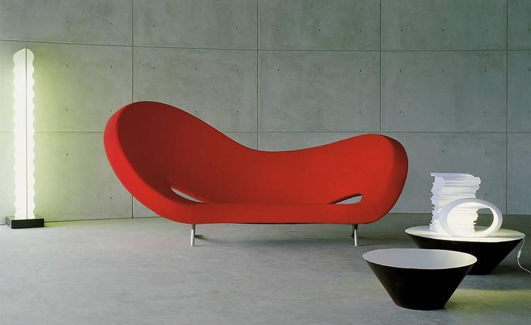 Famous Victoria and Albert Sofa Designed by Ron Arad for Moroso Made in  UV18