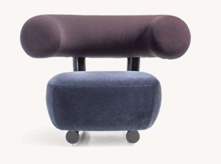 Pipe Chair by Sebastian Herkner for Moroso For Sale 1