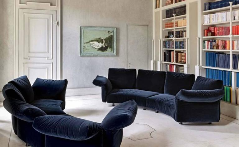Modern Edra Essential Sofa By Francesco Binfaré For Sale