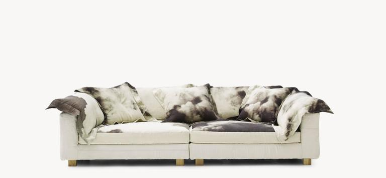 Nebula Nine Sofa By Moroso With Goose Down Cushions For
