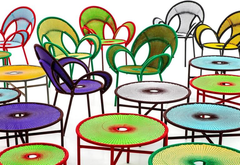 Modern Banjooli Chair by Sebastian Herkner for Moroso for Indoor and Outdoor For Sale