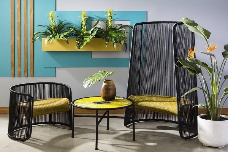 Contemporary Husk Chair by Marc Thorpe for Moroso for Indoor and Outdoor For Sale