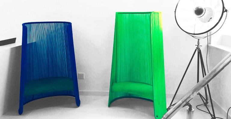 Husk Chair by Marc Thorpe for Moroso for Indoor and Outdoor For Sale 1