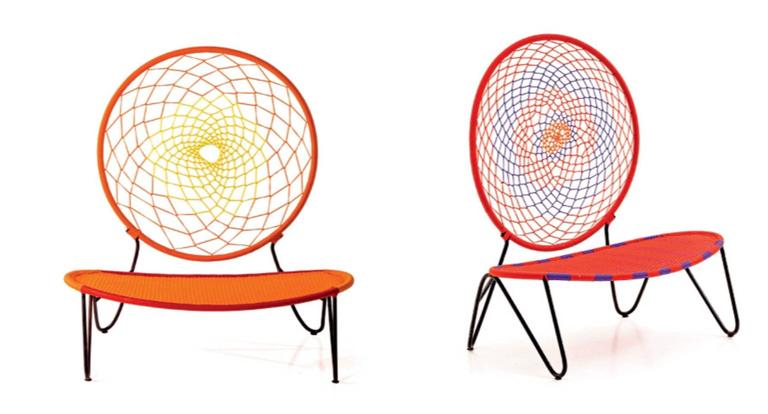 O)< Chair by Tord Boontje for Moroso for Indoor & Outdoor Use In New Condition For Sale In Rhinebeck, NY