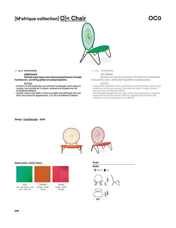 O)< Chair by Tord Boontje for Moroso for Indoor & Outdoor Use For Sale 2