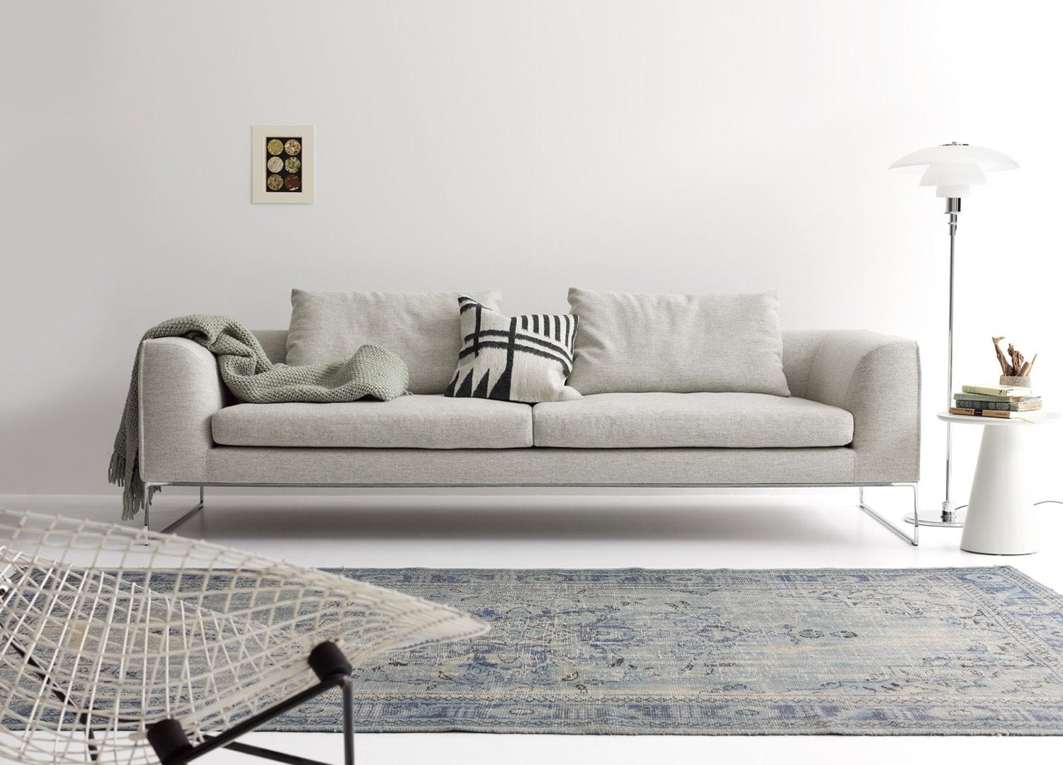 Mel Lounge Sofa with Seat Cushion by COR For Sale at 1stdibs