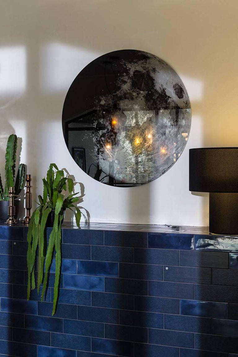 My Moon My Mirror Wall Hung Mirror By Moroso With Diesel