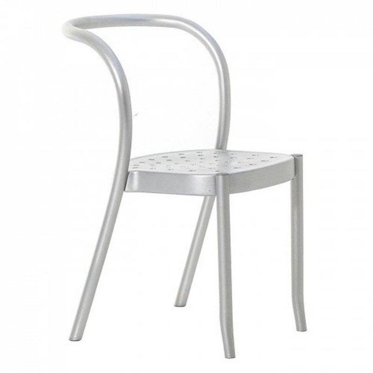 Moroso St. Mark Chair in Aluminium for Indoor and Outdoor Use