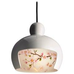 Moooi Juuyo Suspension Lamp by Lorenza Bozzoli with Koi Fish or Peach Flowers