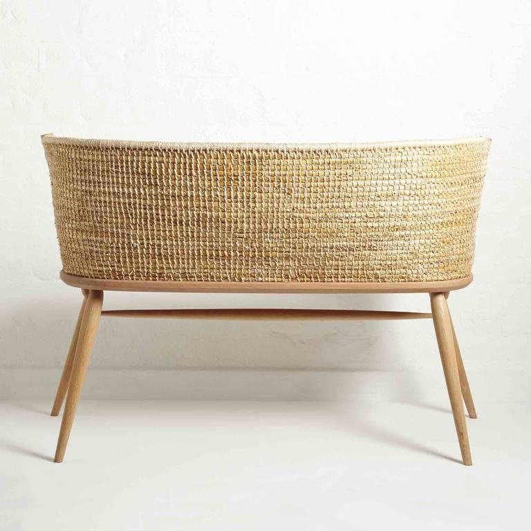 Handwoven Orkney Style Straw Brodgar Bench by Gareth Neal 9