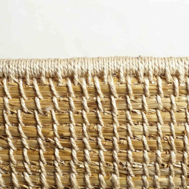 Handwoven Orkney Style Straw Brodgar Bench by Gareth Neal 10