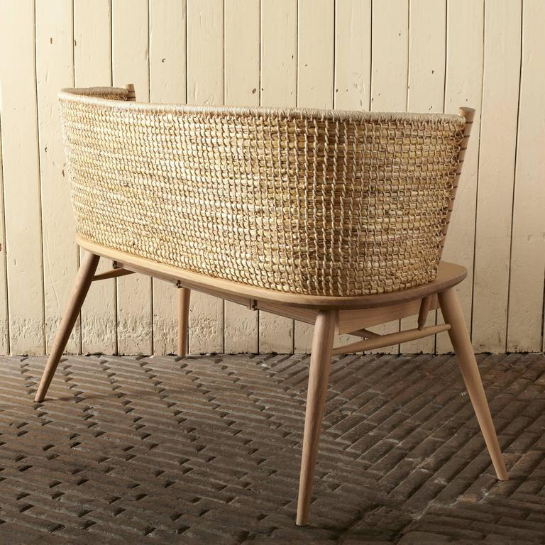 Handwoven Orkney Style Straw Brodgar Bench by Gareth Neal 2