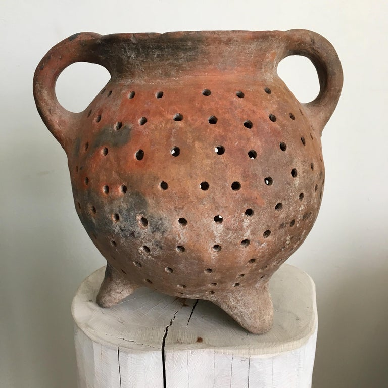 Mexican Terracotta Pot from Mexico, 1970s For Sale
