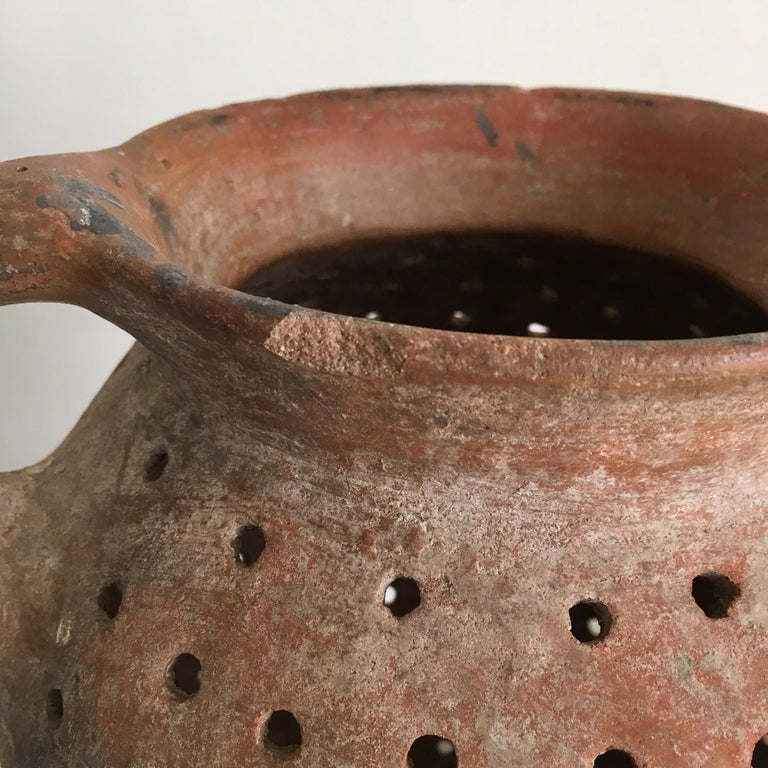 Late 20th Century Terracotta Pot from Mexico, 1970s For Sale
