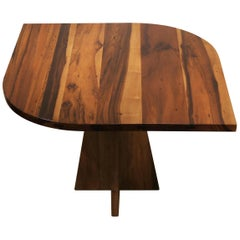 Contemporary Solid Wood Teardrop Luca Table from Costantini