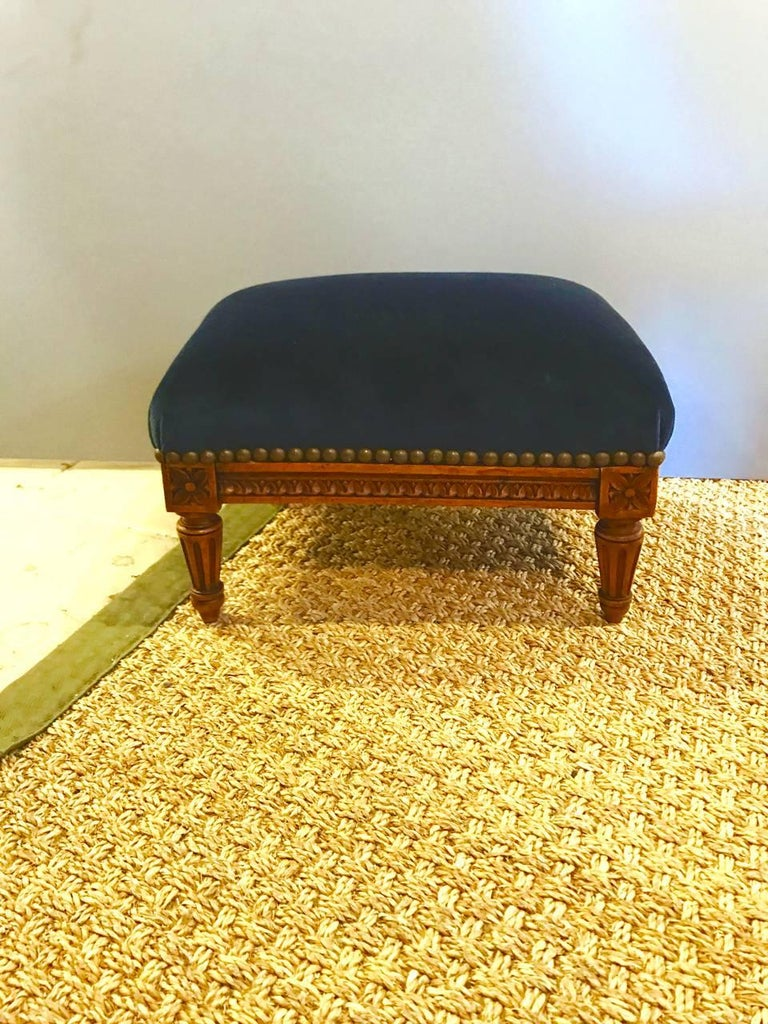 Early 20th Century Louis Xvi Style Petit Footstool At 1stdibs