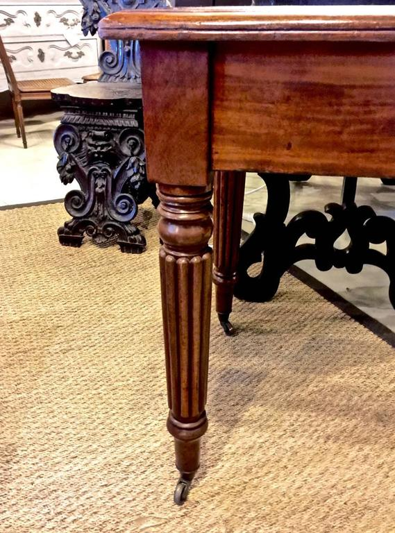 19th Century Regency or William IV Writing Table/Desk with Book Stand For Sale