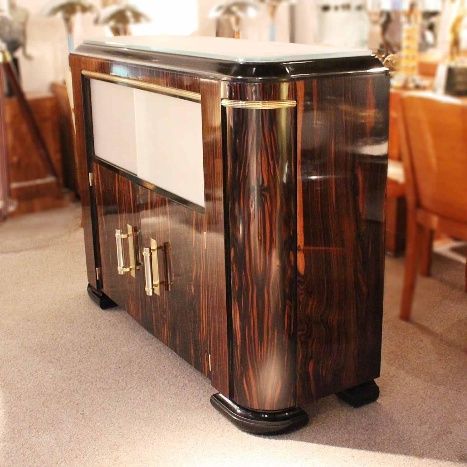 Art Deco Cocktail Cabinet At 1stdibs