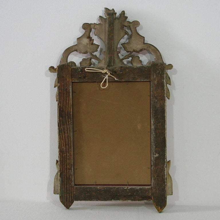 Small 19th Century French Louis XVI Style Mirror In Good Condition For Sale In Amsterdam, NL